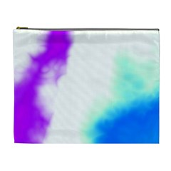 Pink White And Blue Sky Cosmetic Bag (XL)