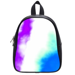Pink White And Blue Sky School Bags (Small)