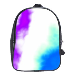 Pink White And Blue Sky School Bags (XL)