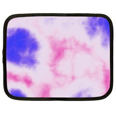 Pink N Purple Netbook Case (Large)
