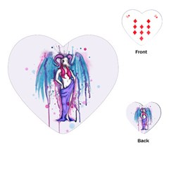 Dirty Wings Playing Cards (heart)