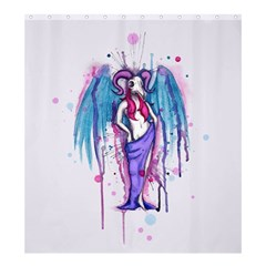 Dirty Wings Shower Curtain 66  x 72  (Large)