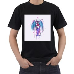 Dirty Wings Men s T-Shirt (Black)