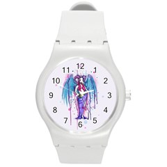Dirty Wings Round Plastic Sport Watch (M)