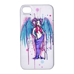 Dirty Wings Apple iPhone 4/4S Hardshell Case with Stand