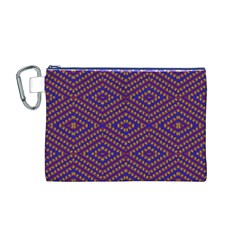 HEARTS Canvas Cosmetic Bag (M)