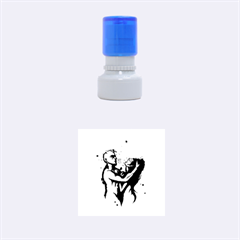 Come Play Rubber Round Stamps (Small)