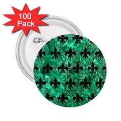 RYL1 BK-GR MARBLE 2.25  Buttons (100 pack)