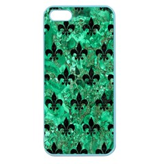 RYL1 BK-GR MARBLE Apple Seamless iPhone 5 Case (Color)