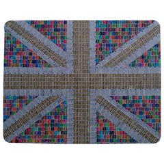 Multicoloured Union Jack Jigsaw Puzzle Photo Stand (Rectangular)