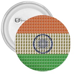 Indian Flag 3  Buttons