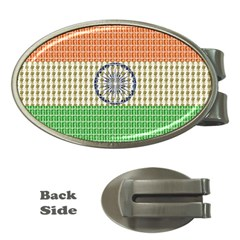 Indian Flag Money Clips (Oval)