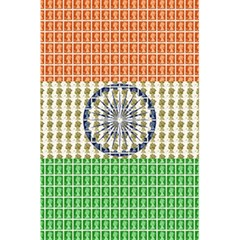 Indian Flag 5.5  x 8.5  Notebooks