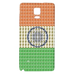 Indian Flag Galaxy Note 4 Back Case