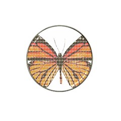 Butterfly Hat Clip Ball Marker (10 pack)