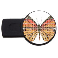 Butterfly USB Flash Drive Round (4 GB)