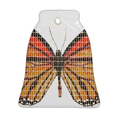 Butterfly Bell Ornament (2 Sides)