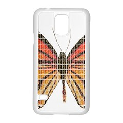 Butterfly Samsung Galaxy S5 Case (white)