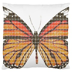 Butterfly Standard Flano Cushion Case (One Side)