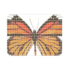 Butterfly Double Sided Flano Blanket (Mini)