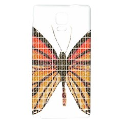 Butterfly Galaxy Note 4 Back Case