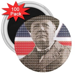Churchill 1 3  Magnets (100 pack)