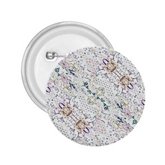 Oriental Floral Ornate 2.25  Buttons