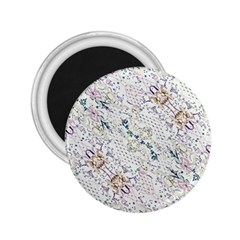 Oriental Floral Ornate 2.25  Magnets