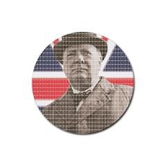 Churchill 1 Rubber Coaster (round)