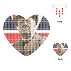Churchill 1 Playing Cards (heart)