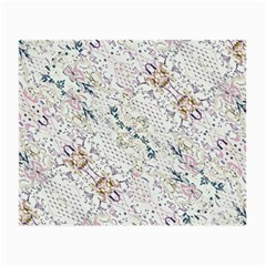 Oriental Floral Ornate Small Glasses Cloth (2-Side)