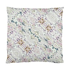 Oriental Floral Ornate Standard Cushion Case (two Sides)