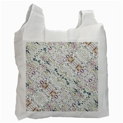Oriental Floral Ornate Recycle Bag (Two Side)