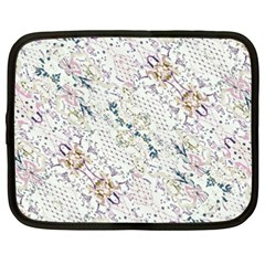 Oriental Floral Ornate Netbook Case (XXL)