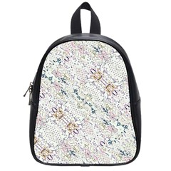 Oriental Floral Ornate School Bags (Small)