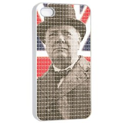 Churchill 1 Apple iPhone 4/4s Seamless Case (White)
