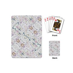 Oriental Floral Ornate Playing Cards (Mini)