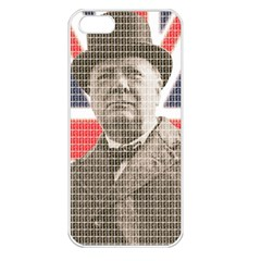 Churchill 1 Apple iPhone 5 Seamless Case (White)