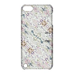 Oriental Floral Ornate Apple iPod Touch 5 Hardshell Case with Stand