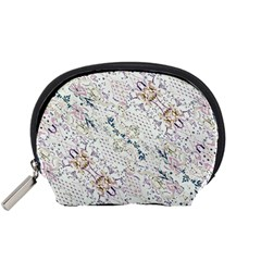 Oriental Floral Ornate Accessory Pouches (Small)