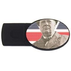 Winston Churchill USB Flash Drive Oval (4 GB)
