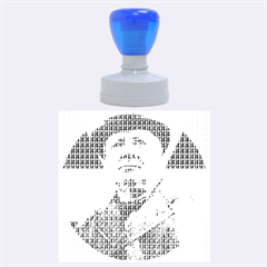 Winston Churchill Rubber Round Stamps (Large)