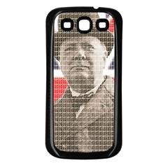 Winston Churchill Samsung Galaxy S3 Back Case (Black)