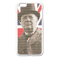 Winston Churchill Apple iPhone 6 Plus/6S Plus Enamel White Case