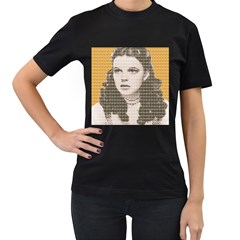 Over The Rainbow - Yellow Women s T-Shirt (Black)