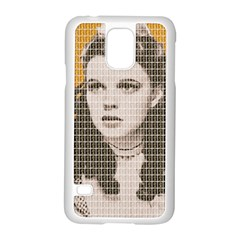 Over The Rainbow - Yellow Samsung Galaxy S5 Case (White)
