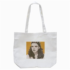 Over The Rainbow - Yellow Tote Bag (White)