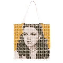 Over The Rainbow - Yellow Grocery Light Tote Bag