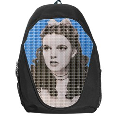 Over The Rainbow   Blue Backpack Bag