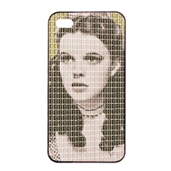 Over The Rainbow - Gold Apple iPhone 4/4s Seamless Case (Black)